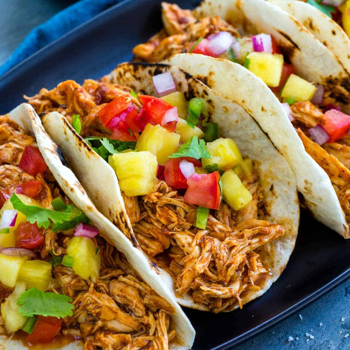 Slow Cooker Chicken Tacos Jessica Gavin