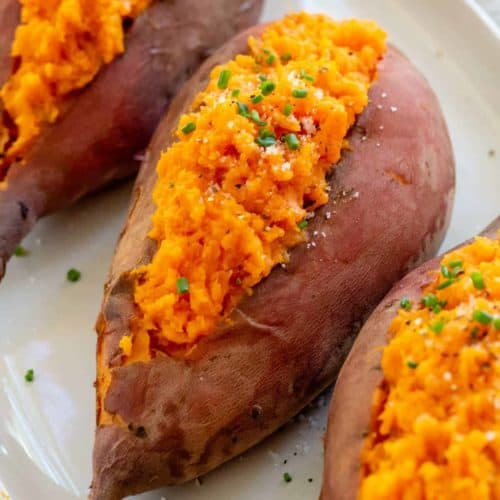 Baked Sweet Potatoes Jessica Gavin