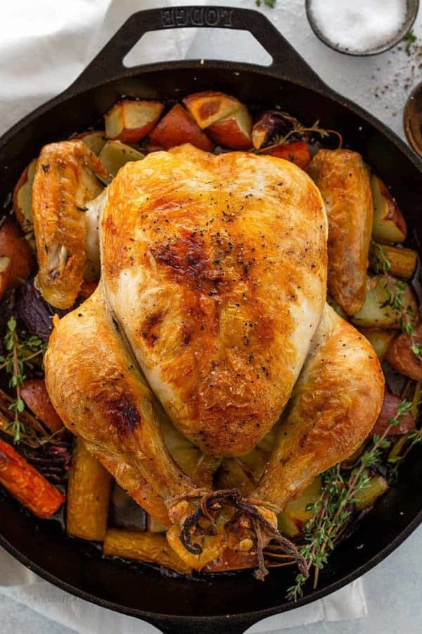 Roasted Chicken (Step-by-Step) - Jessica Gavin