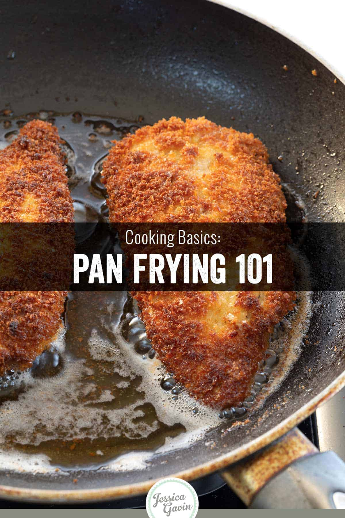 Pan-frying is an effective way to add rich, caramelized flavor to the food you cook, as well as retain its moisture and tenderness. #frying #culinaryschool #cooking101 #foodscience