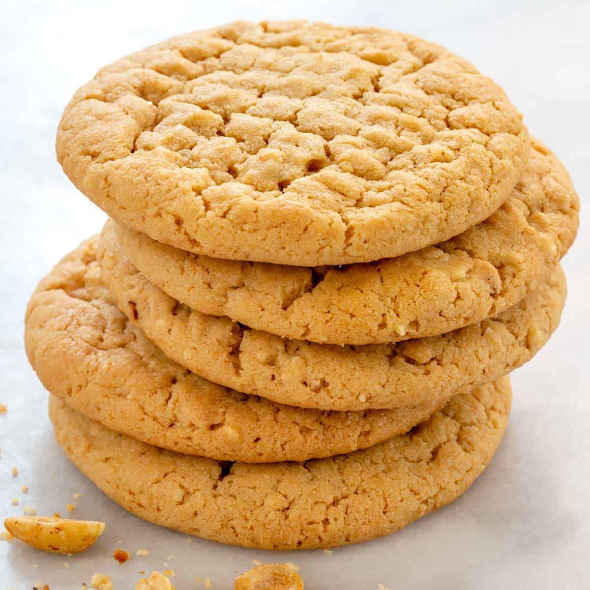 Peanut Butter Cookies Recipe Jessica Gavin