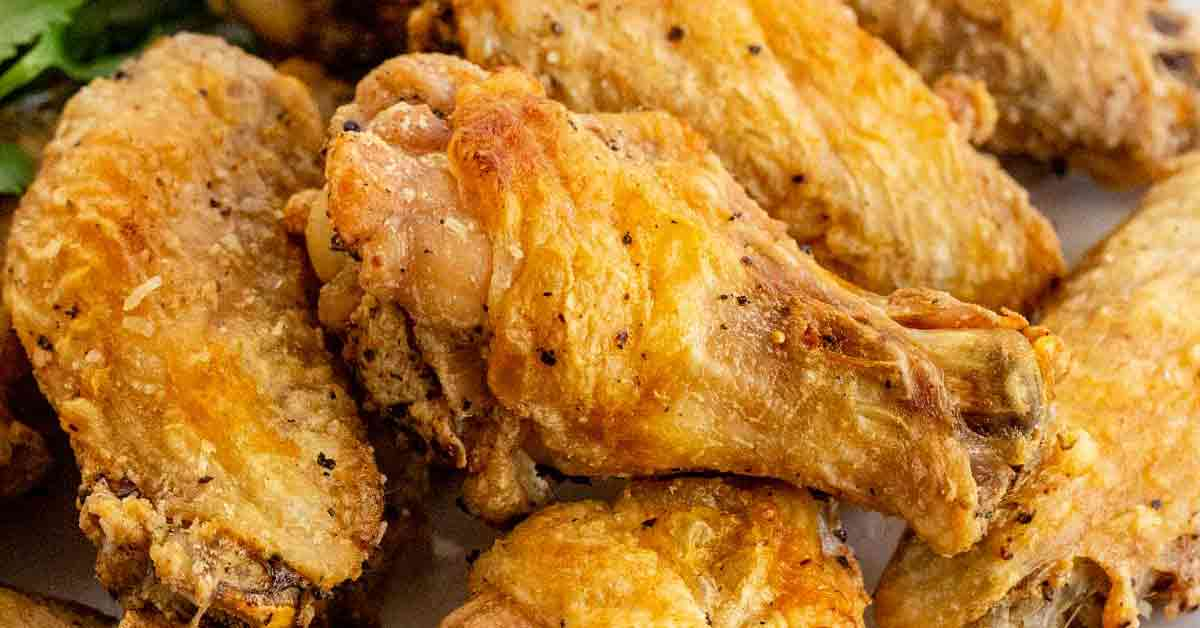 How to make baked hot wings without flour