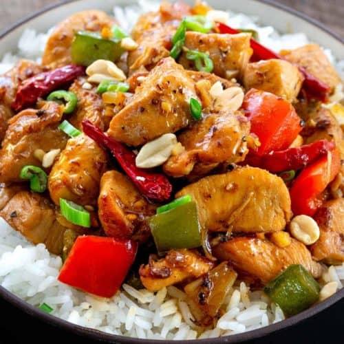 Kung Pao Chicken Jessica Gavin