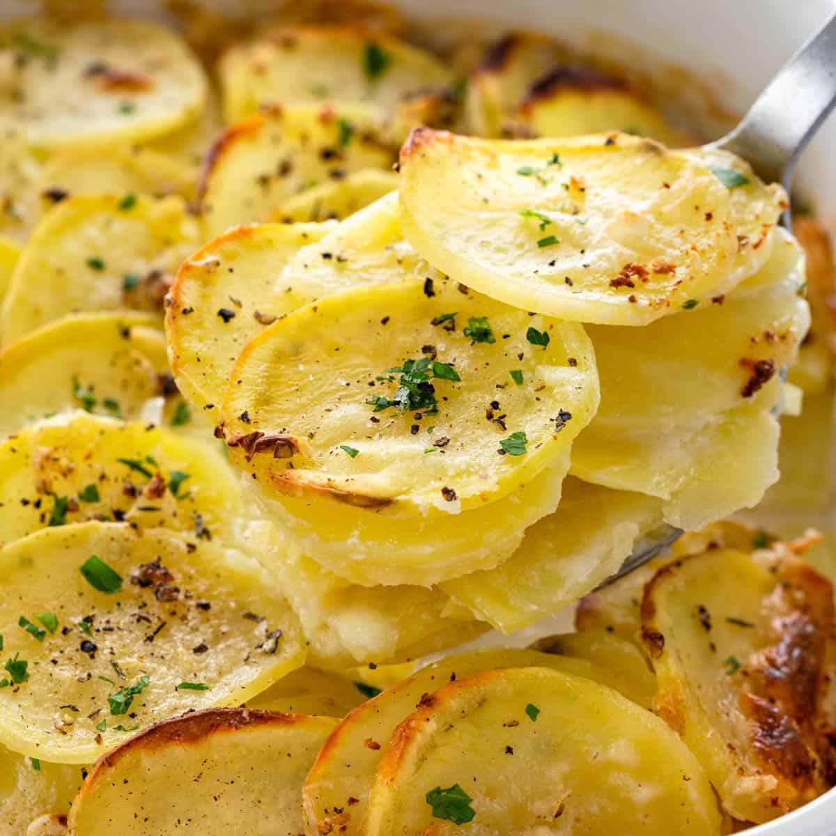 Гарниры из картофеля рецепты с фото
