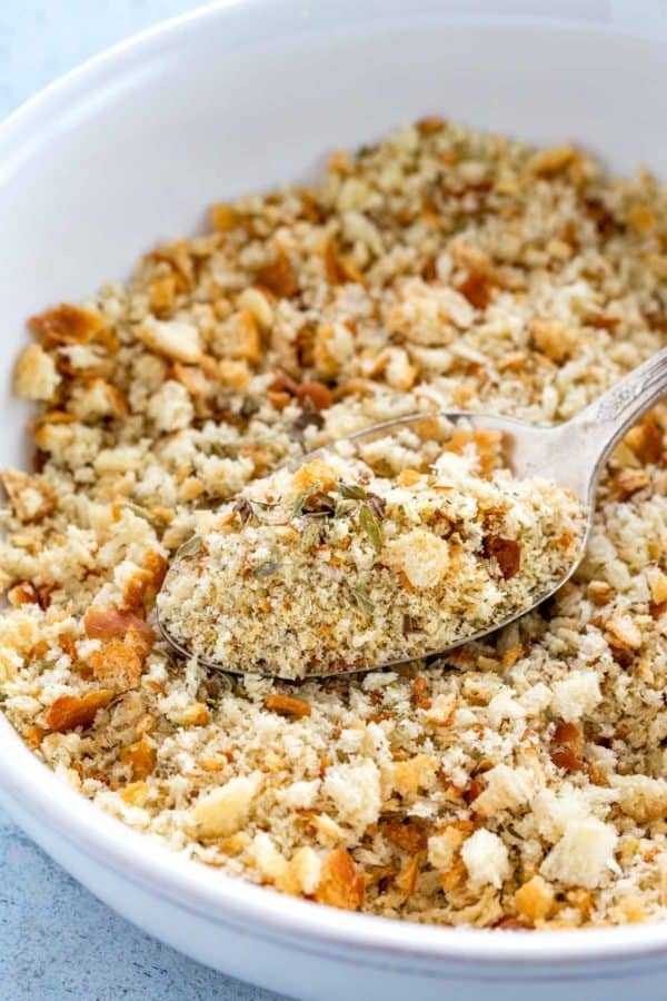 How to make seasoned whole wheat bread crumbs