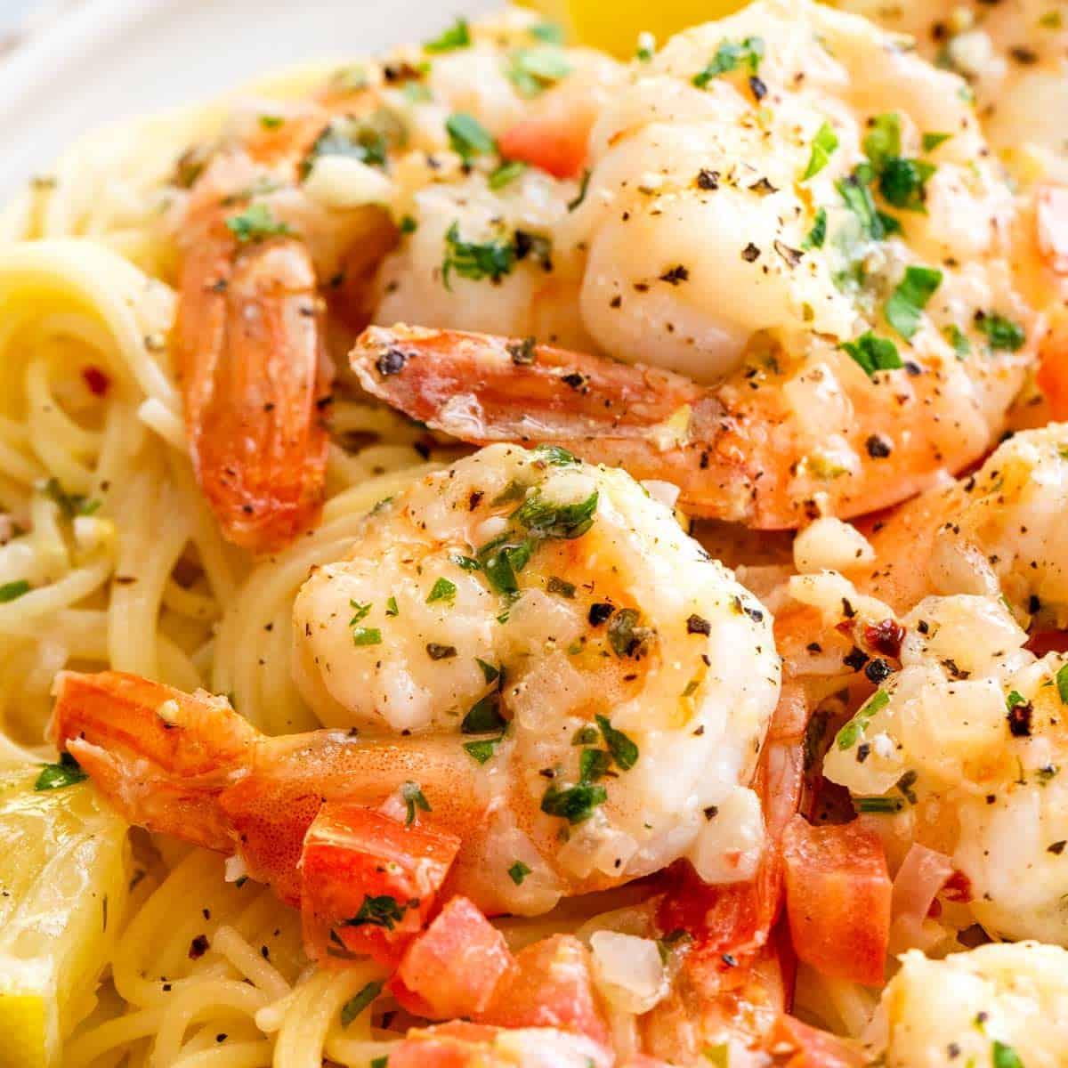 Shrimp Scampi Jessica Gavin