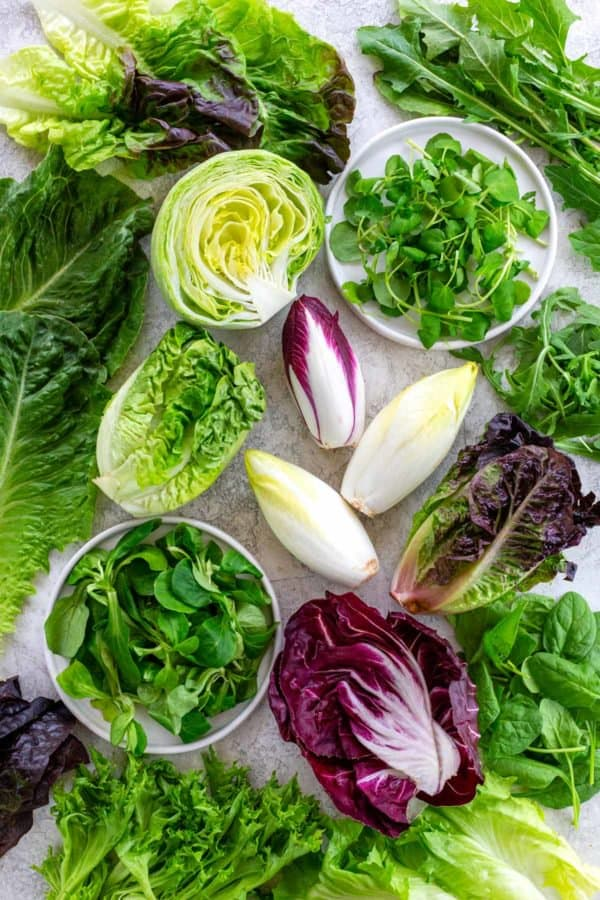 Types of Lettuce and Other Leafy Greens
