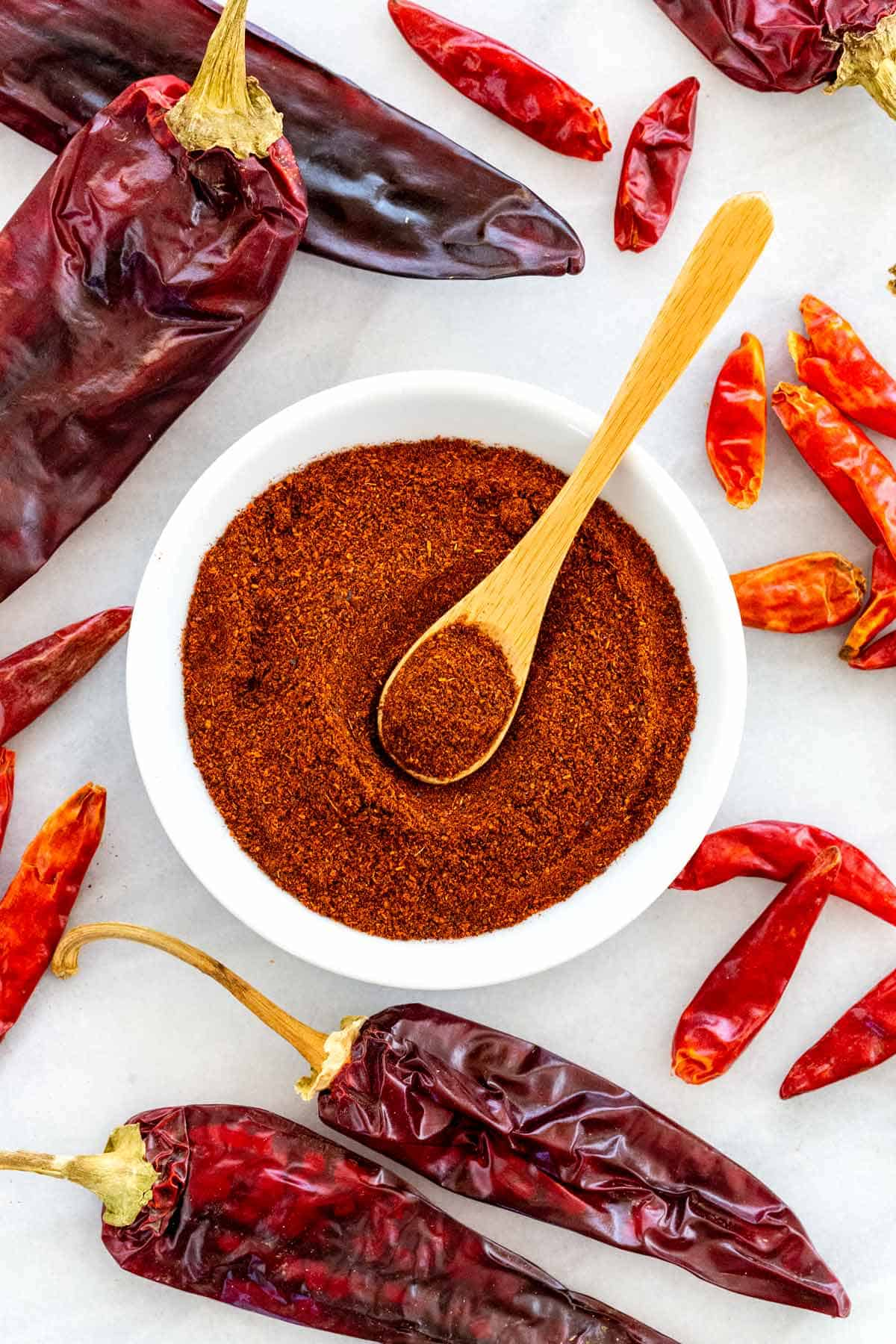 There's more to chili powder than just crushed, ground chilis. Let's learn all about this popular spice and what to do when you don't have it on hand. #chilipowder #chilies #chilipeppers