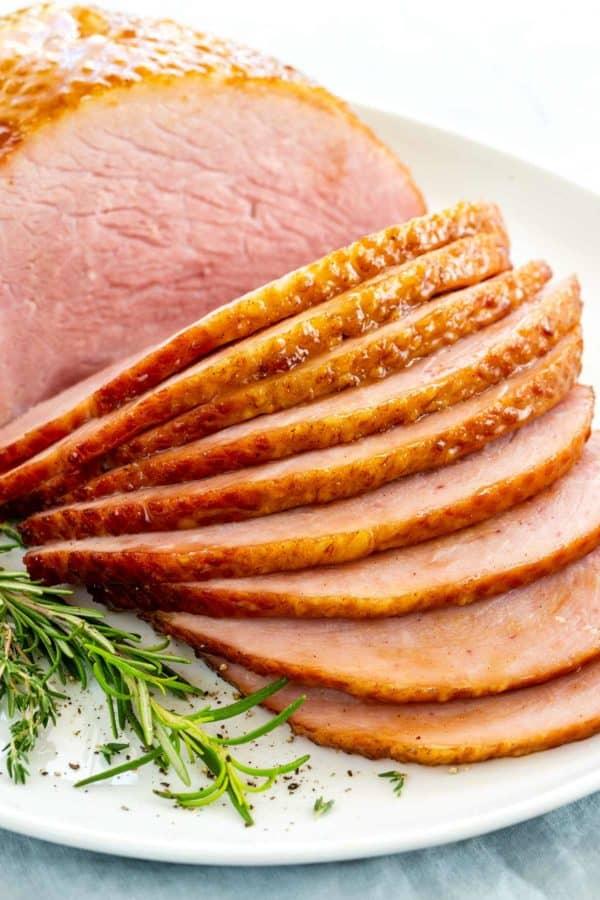 Crock-Pot Ham with Maple Syrup Glaze