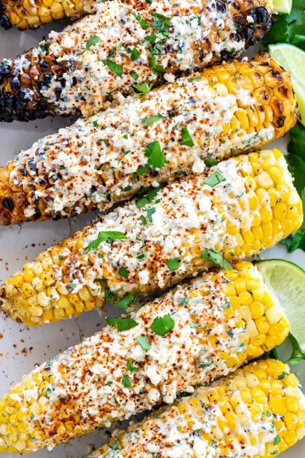 Elotes (Grilled Mexican Street Corn)