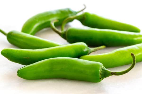 Serrano peppers