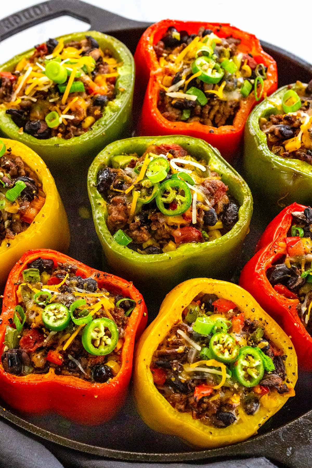 STUFFED PEPPERS WITH GROUND BEEF JESSICA GAVIN