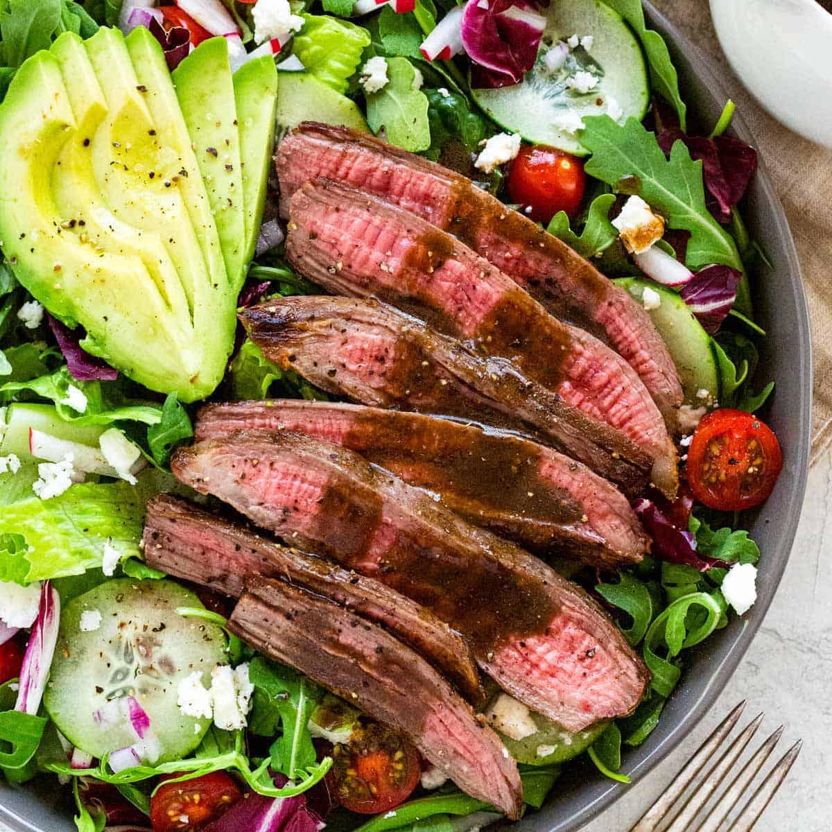 Steak Salad Jessica Gavin