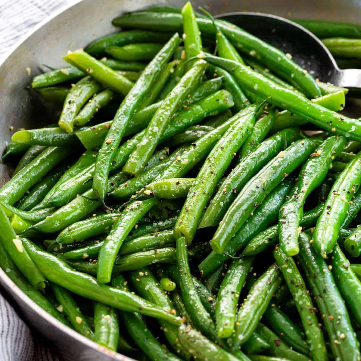 Sauteed Green Beans Jessica Gavin