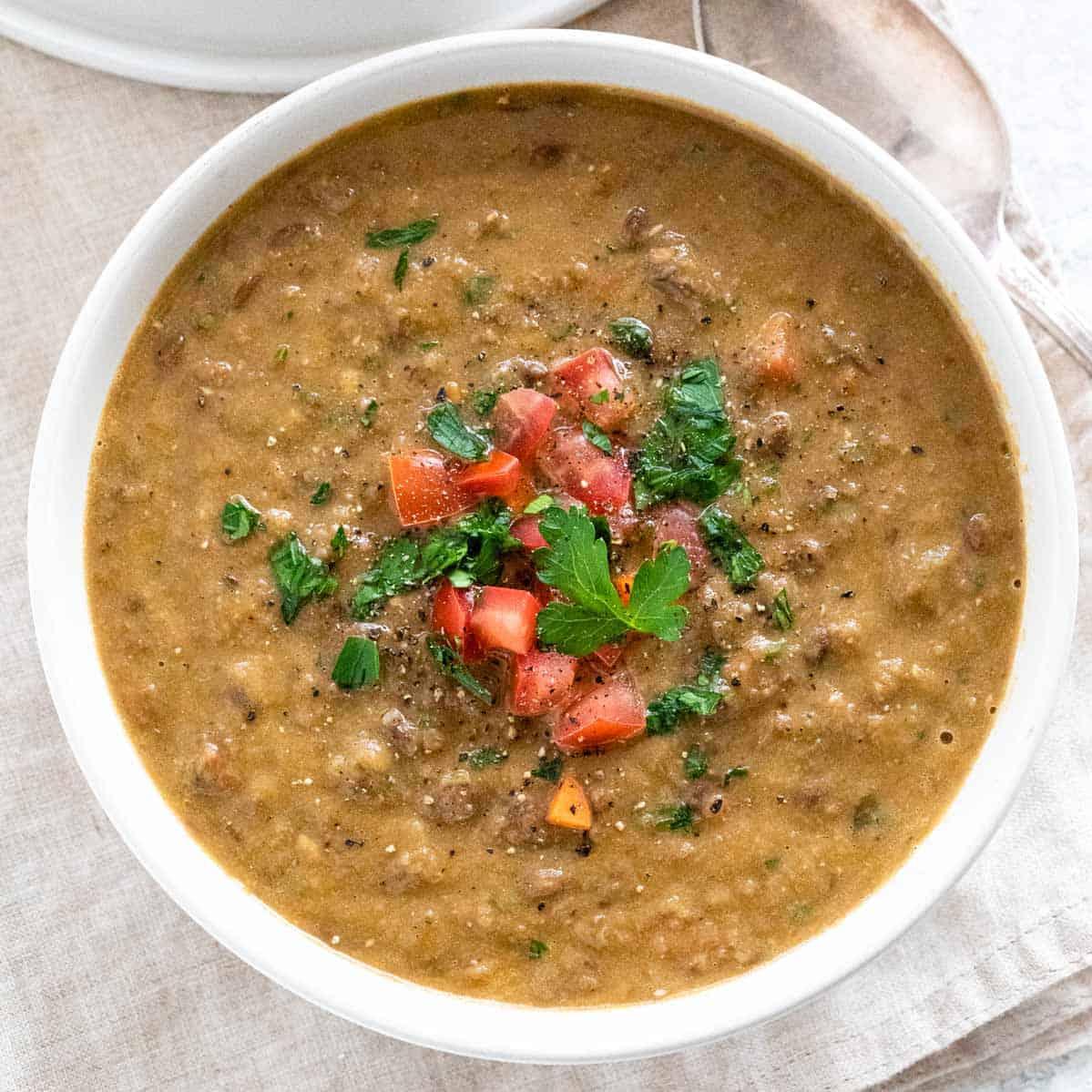 Easy Lentil Soup Recipe Jessica Gavin
