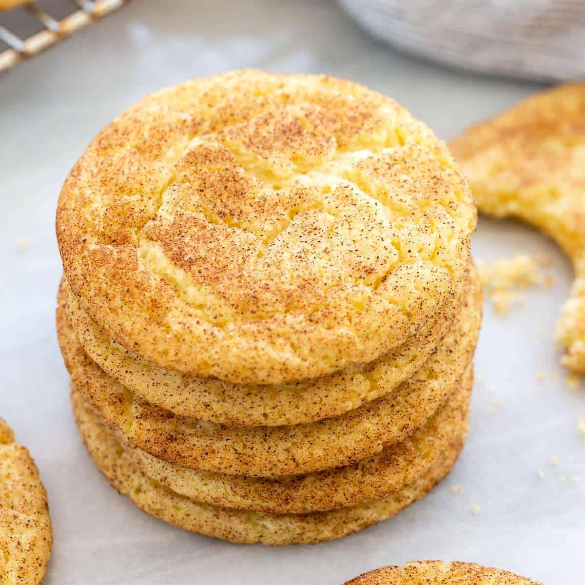 Snickerdoodle Cookies Jessica Gavin