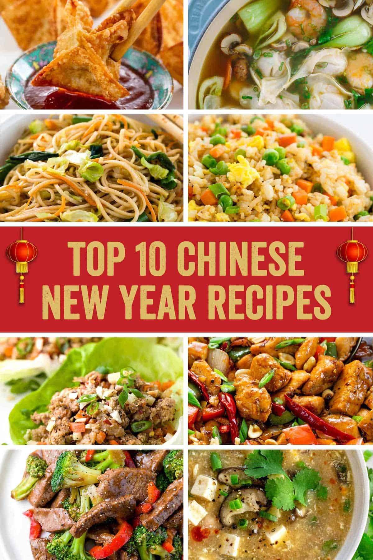 Celebrate the Chinese New Year with a master class in flavorful Asian cuisine! With each recipe, you'll learn how to use your wok (or pan) to recreate your favorite Chinese restaurant meals. #chinesefood #chineserecipes #chinesenewyear