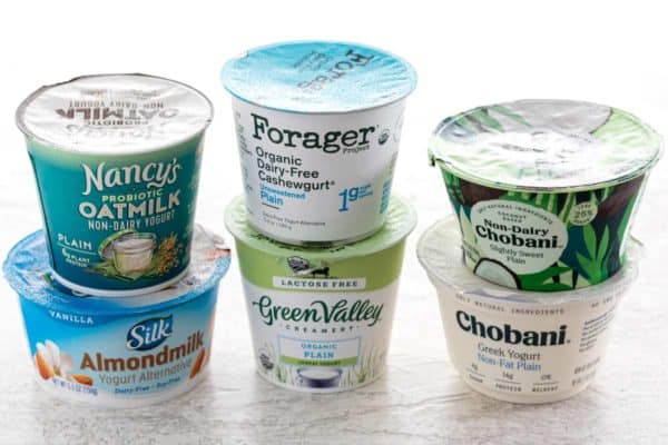 Types of yogurt containers