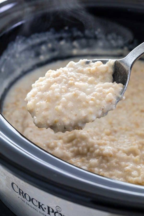 Slow cooker steel cut oats