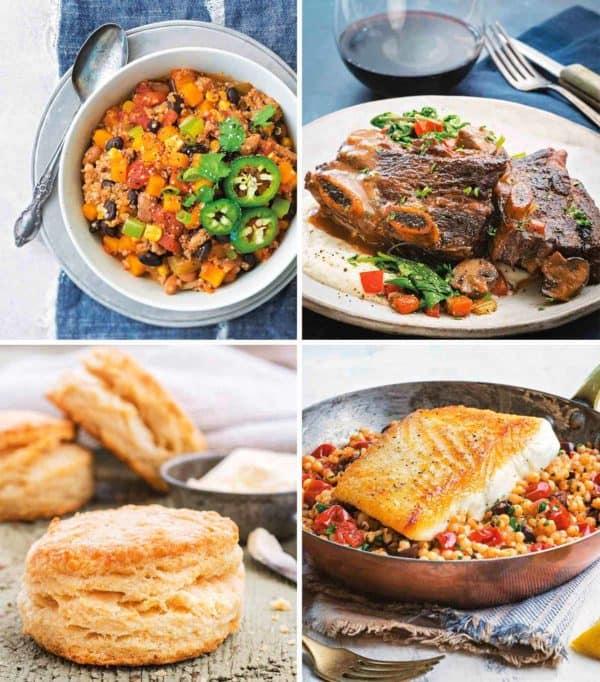 Cookbook recipe photos