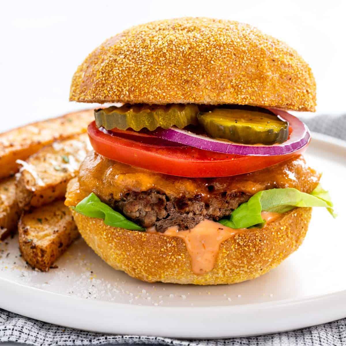 Easy Stovetop Burgers Jessica Gavin