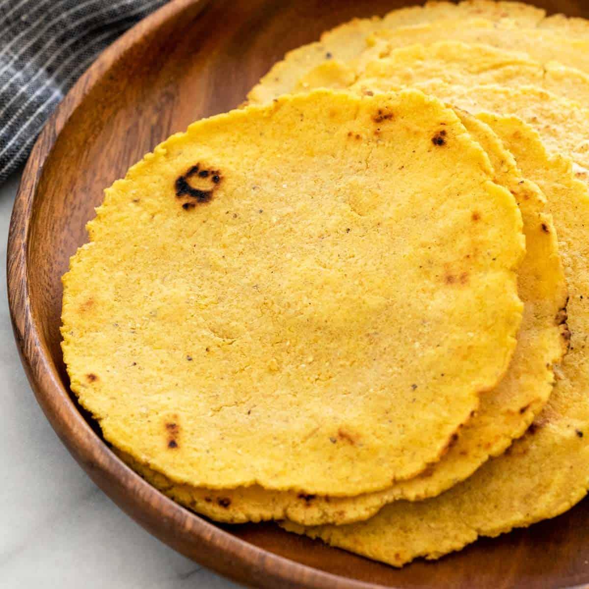 Corn Tortilla Recipe 3 Ingredients Jessica Gavin