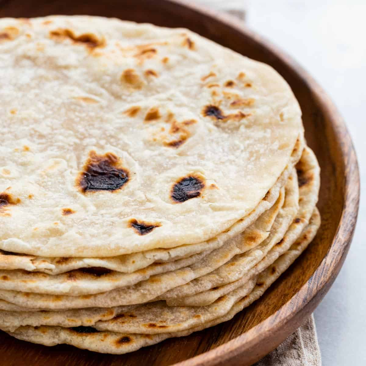 Homemade Flour Tortillas Jessica Gavin