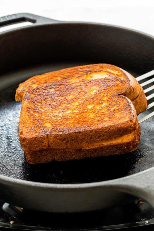 crispy toasted bread