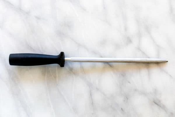 Honing steel rod