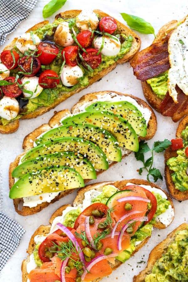 Avocado Toast (6 Easy Recipes!)