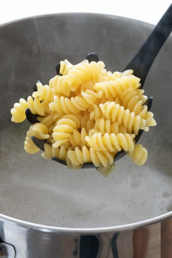 How to cook pasta the right way