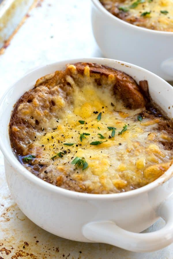 Bowl of French Onion Soup