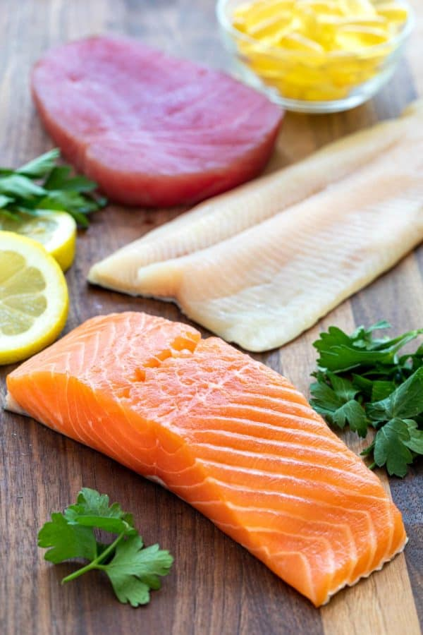 Health benefits of fish and seafood