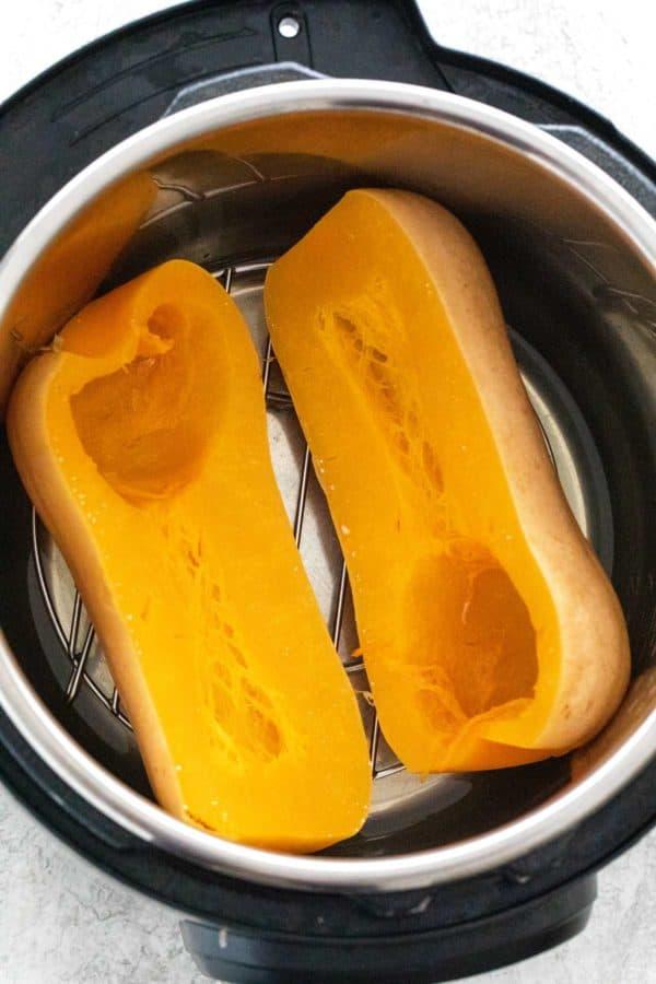 Instant Pot whole butternut squash