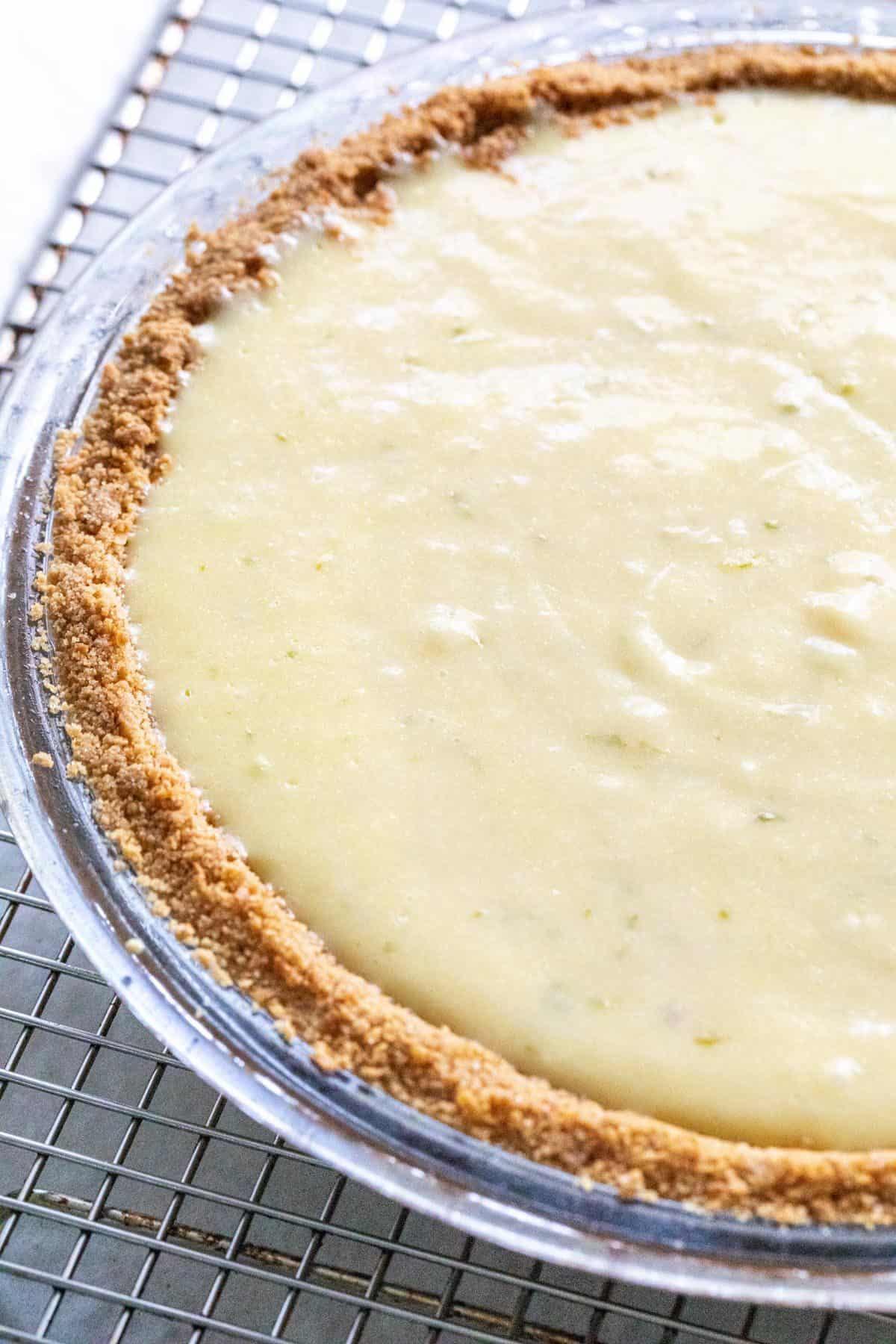 Key lime pie filling