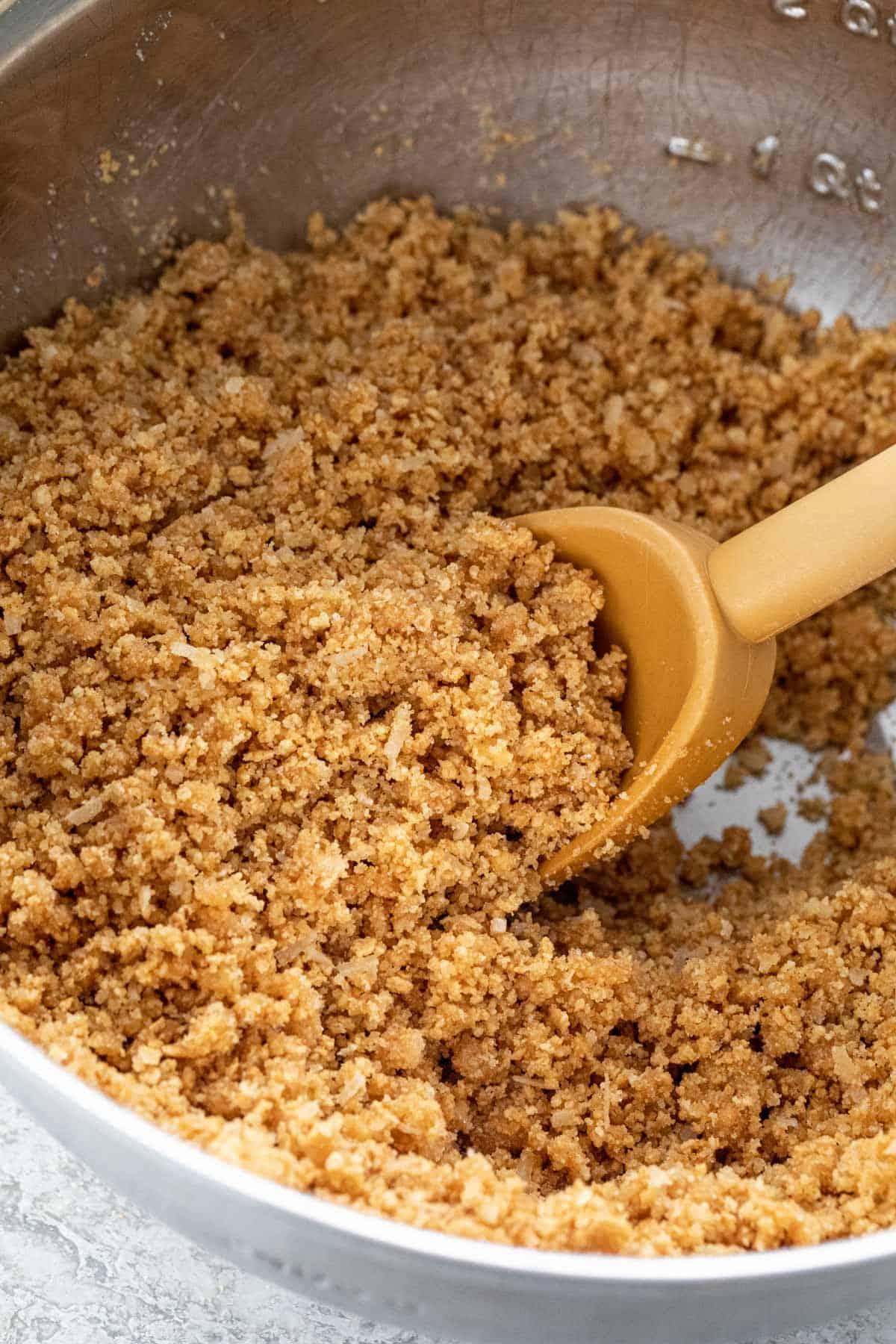 Mixed graham cracker crumb