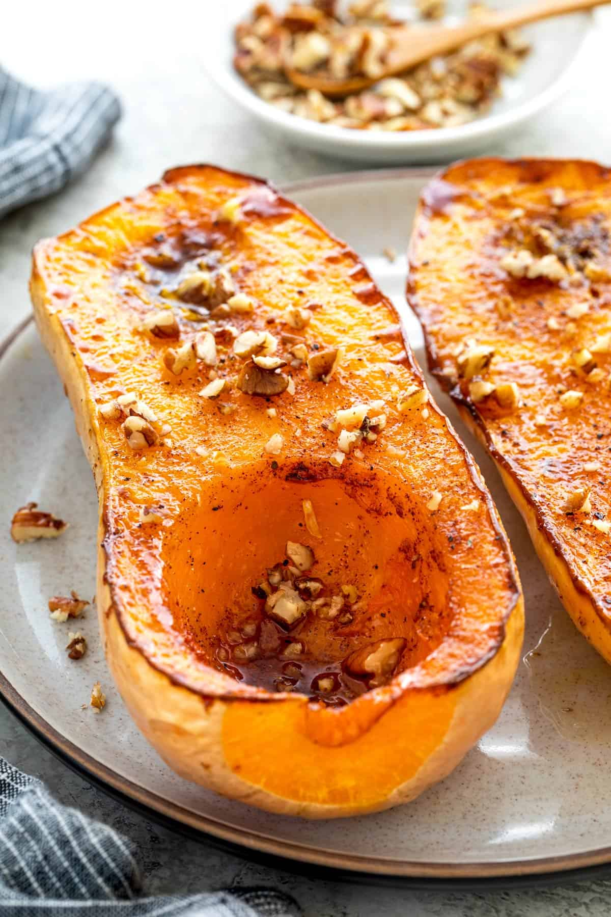 Roasted Whole Butternut Squash Jessica Gavin