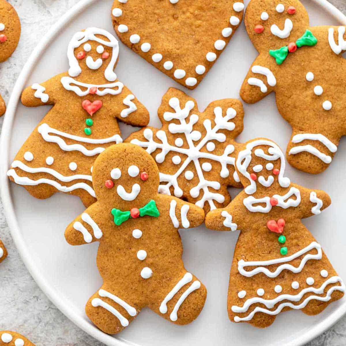 Gingerbread Cookies Step By Step Recipe Jessica Gavin