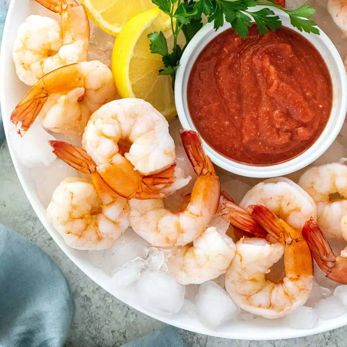 Easy Shrimp Cocktail With Dipping Sauce Jessica Gavin
