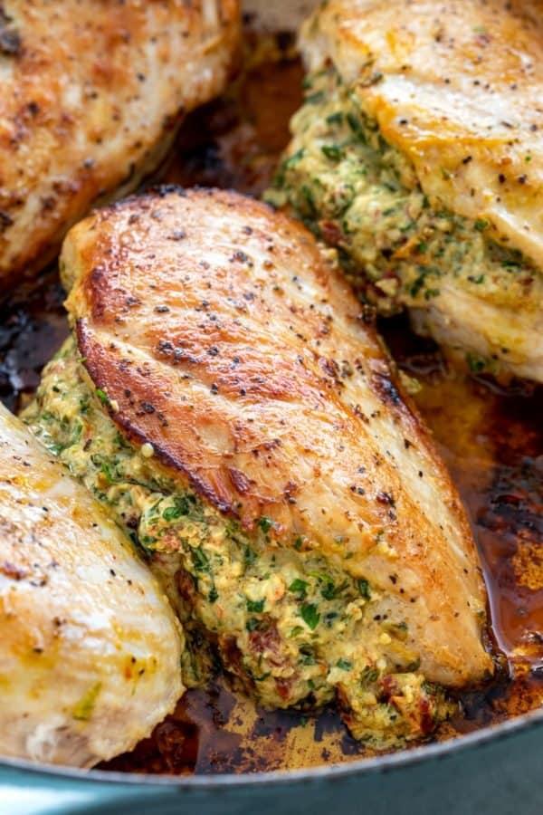 golden brown chicken fillet