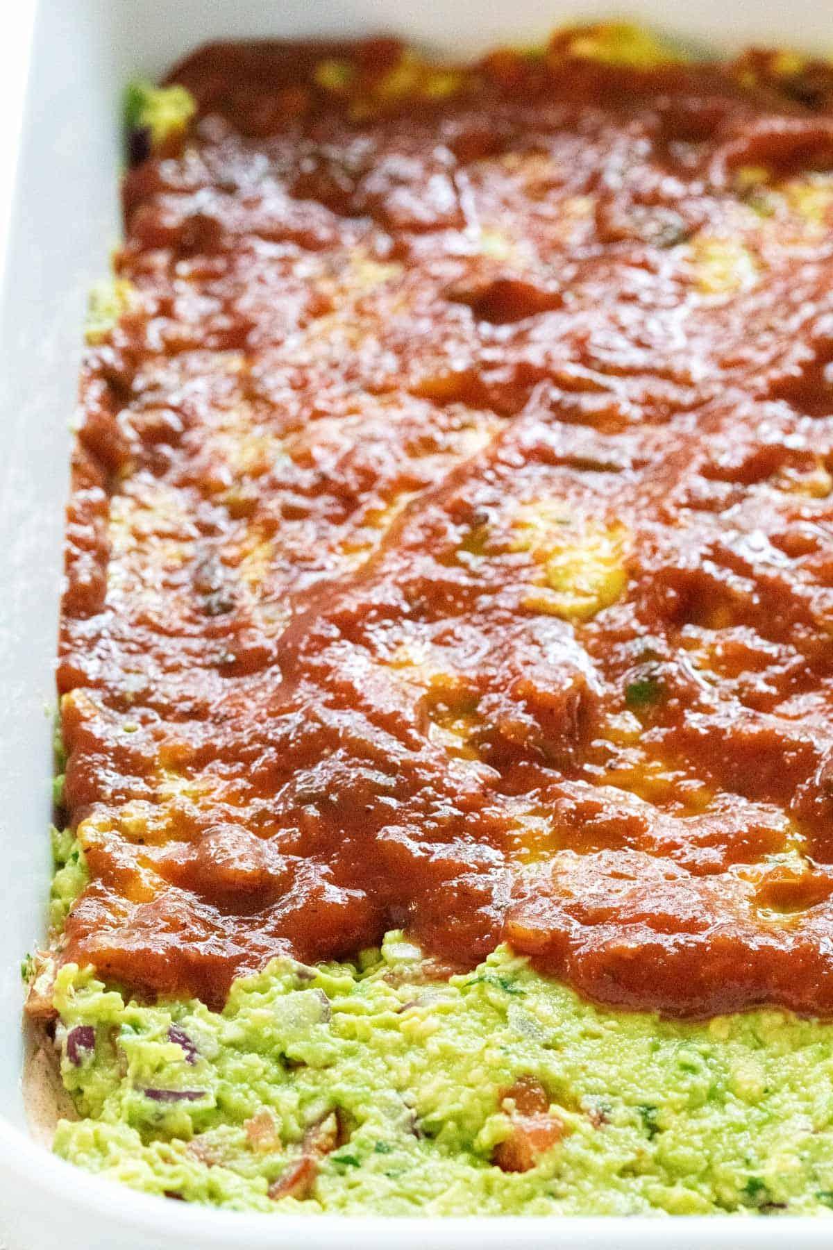 salsa layer