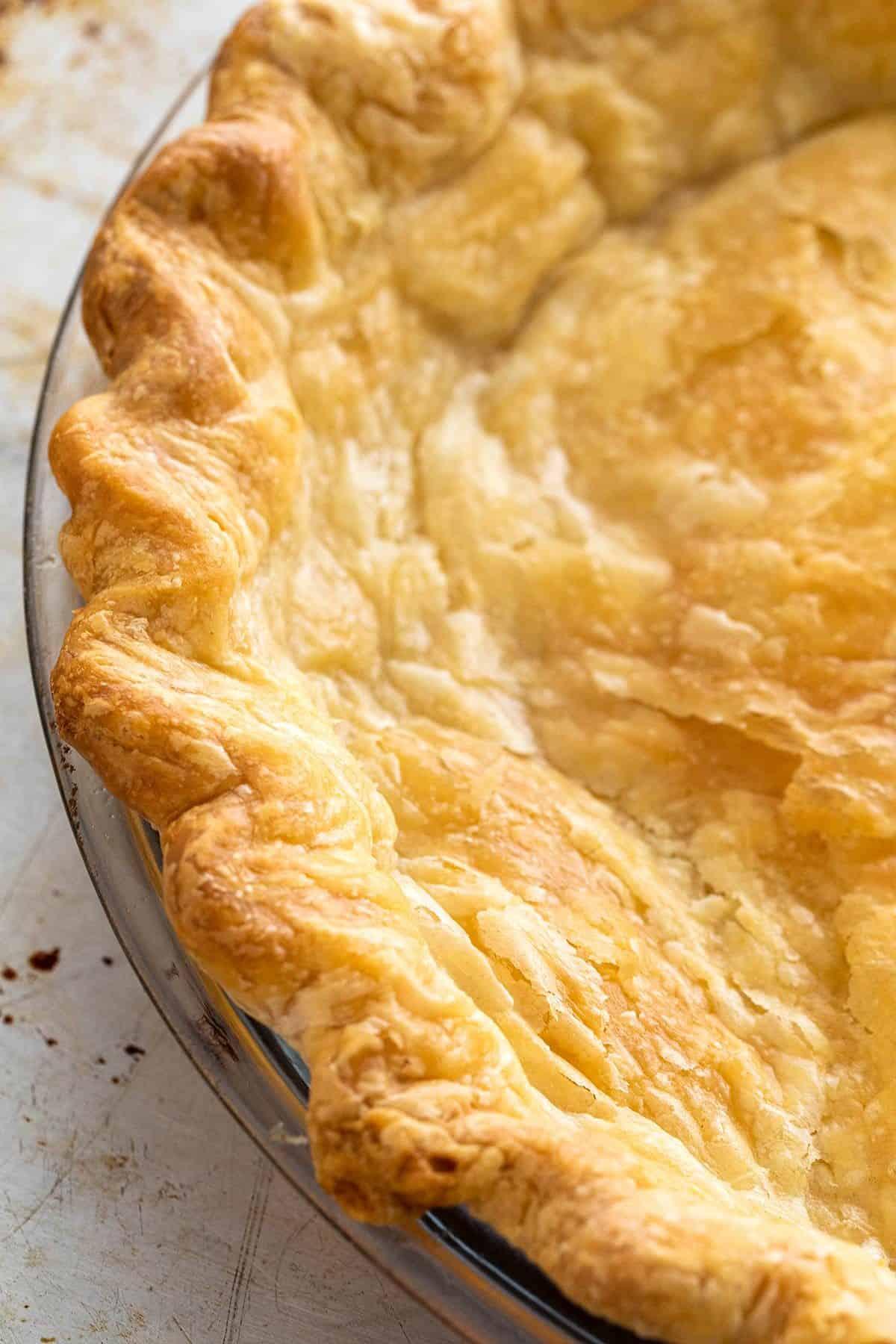 fully blind baked crust